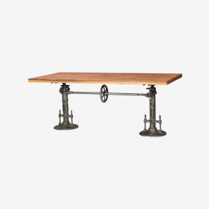 Wood Wide Table Heavy Twin Base
