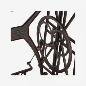 Reclaimed Teak Wood Sewing Machine Console